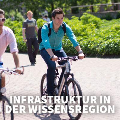Infrastruktur in der Wissensregion